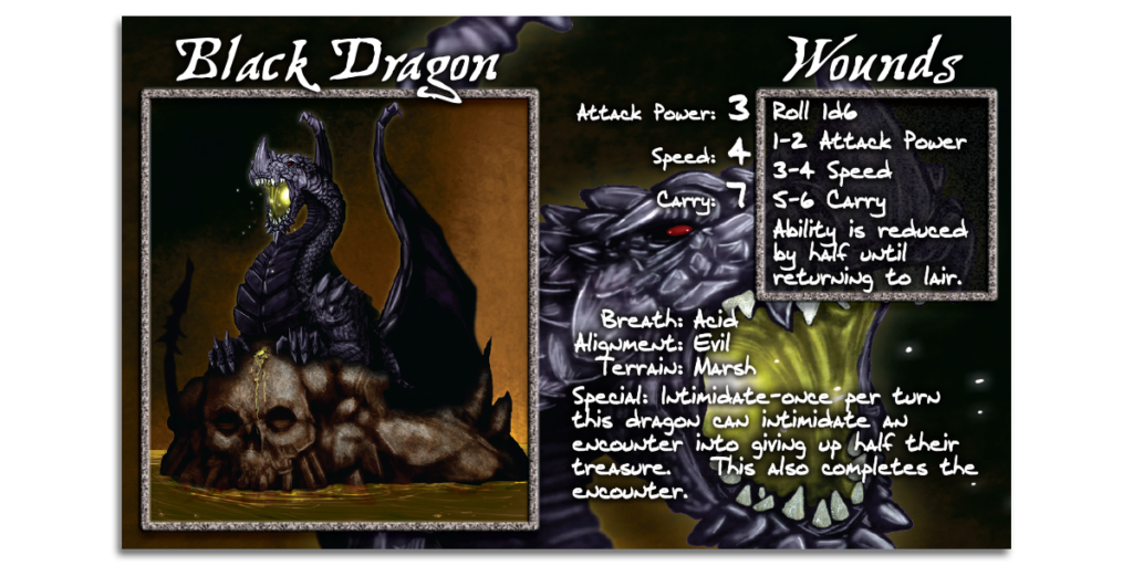 Black Dragon Card