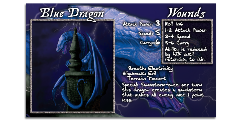 Blue Dragon Card