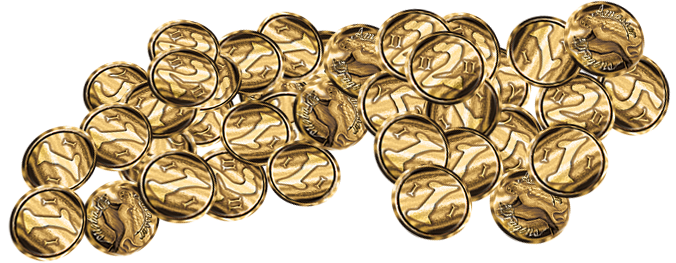 240 Gold Coins