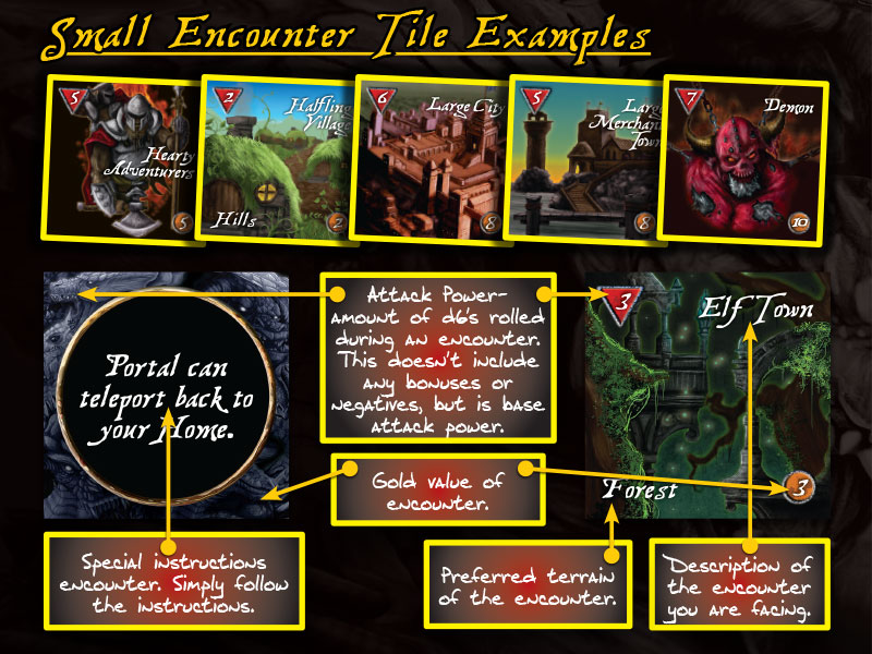 Encounter Tiles